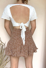 ALAINE RUFFLED SHORTS