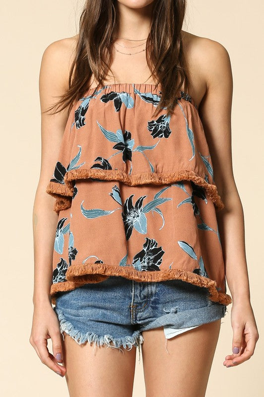 Madison Floral Top