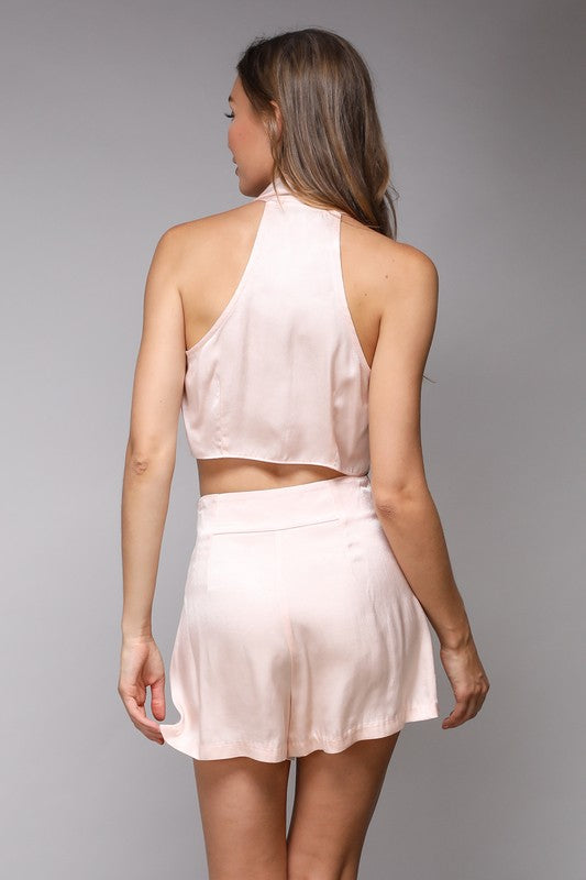 Ciara Blush Tie Top