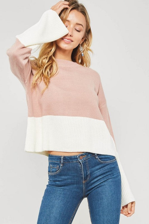 Greer Pink Sweater