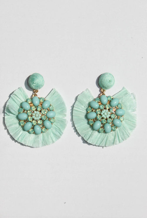 Arden Aquamarine Earrings