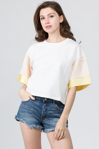 Adela Yellow Top