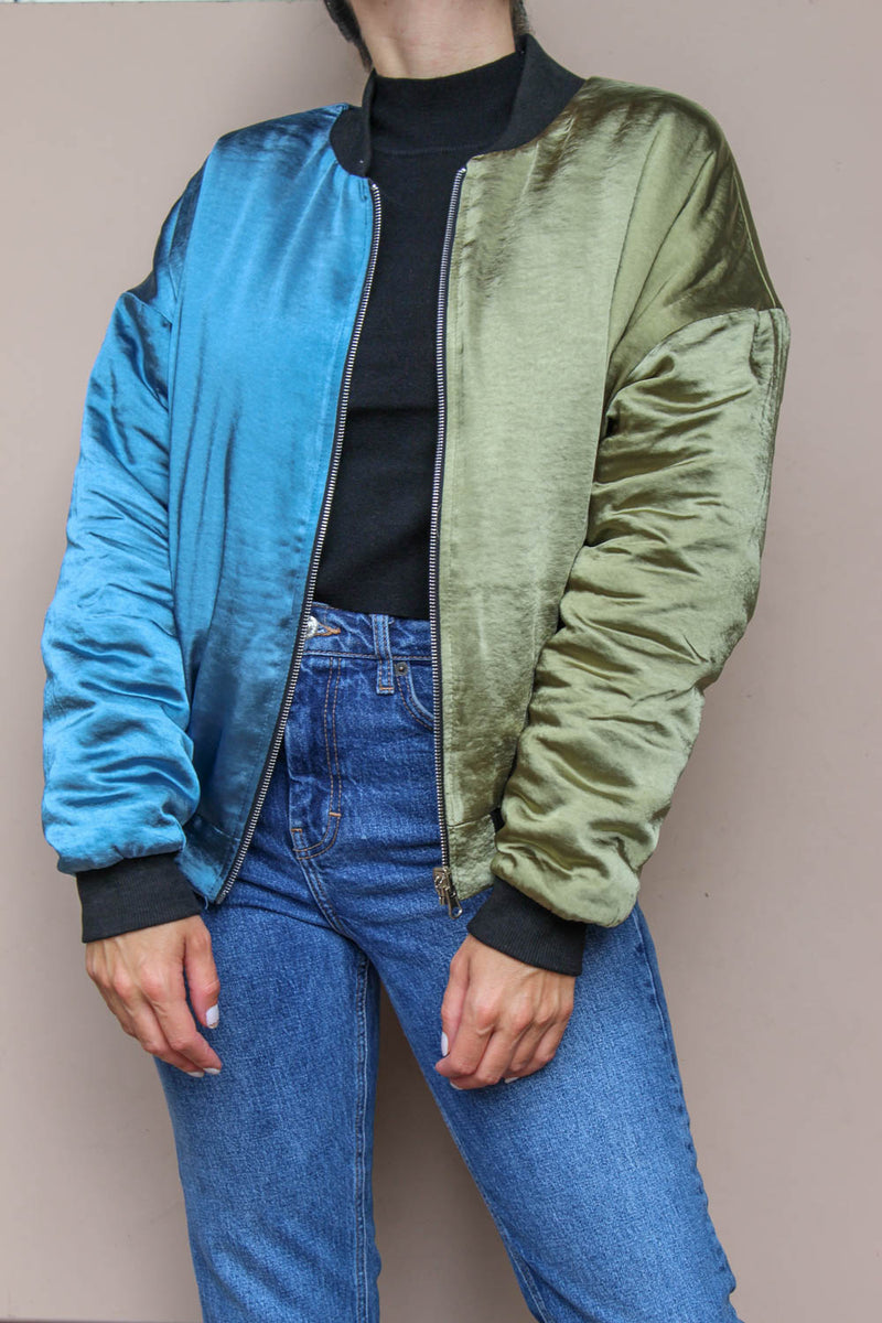 DOUBLE TROUBLE BOMBER JACKET
