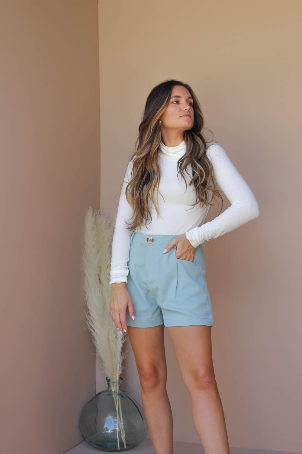 ERIKA PLEATED SHORTS