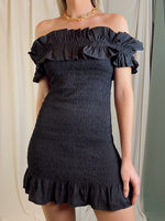 BELI BLACK SMOCK DRESS