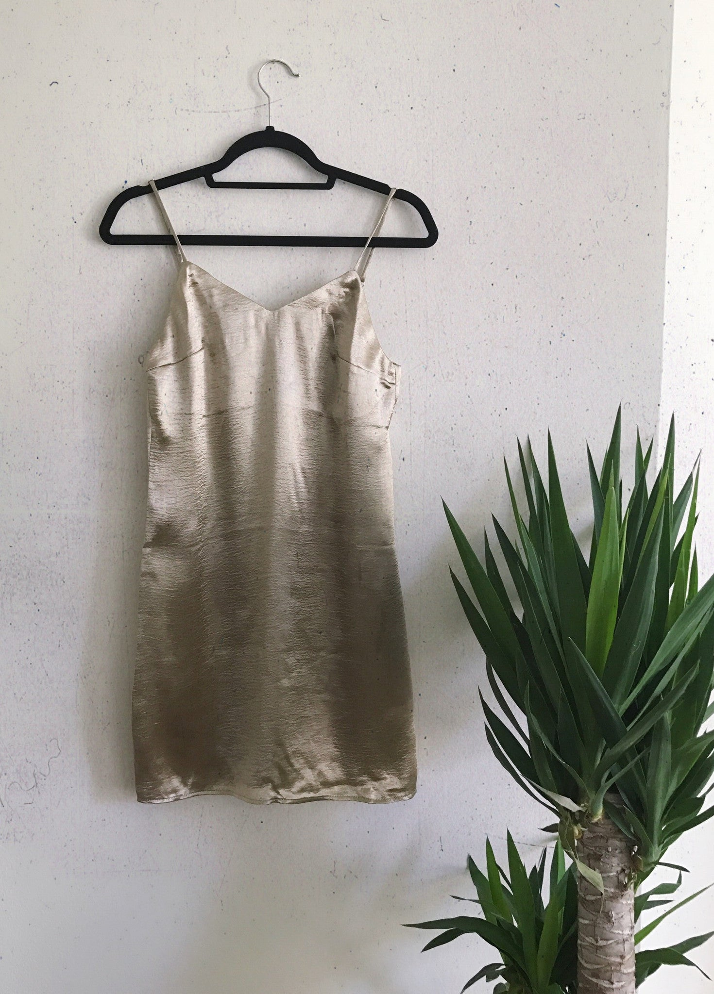 New You Gold Dress