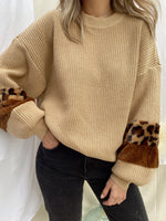 EASTON TAUPE SWEATER