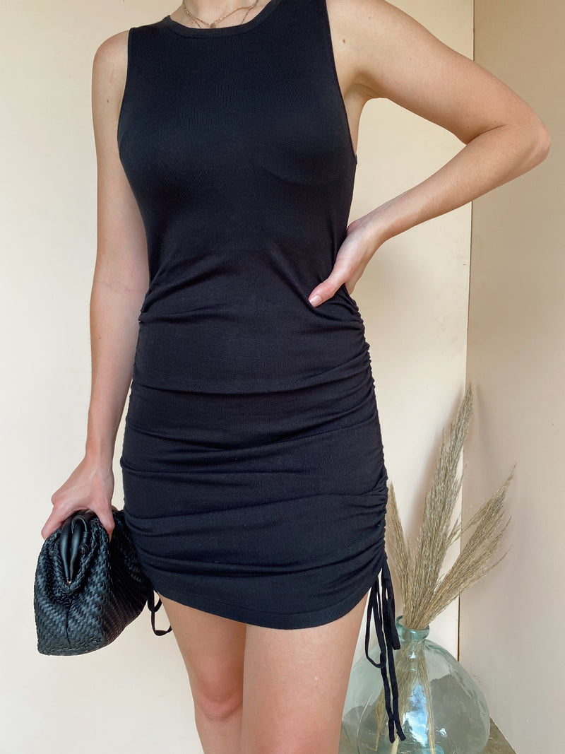 LIZA RUCHED BODYCON DRESS
