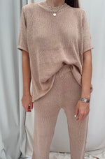 NOREEN MAUVE KNIT SET (restocked)