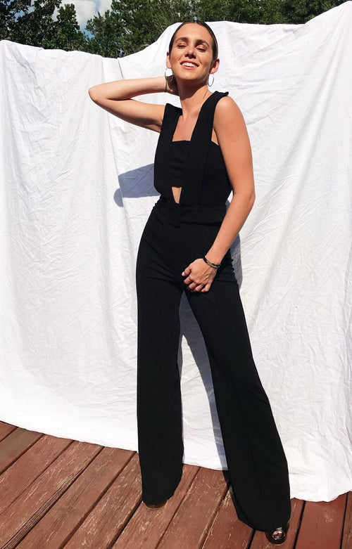 Bellini Black Jumpsuit