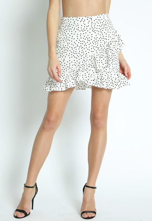 Mallorca Polka Dot Skirt