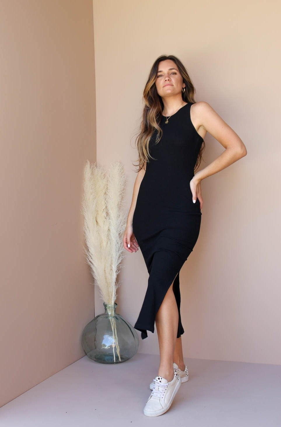 PALM SPRINGS BLACK DRESS