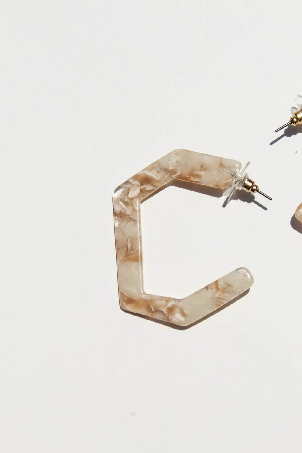 Vivienne Marble Earrings