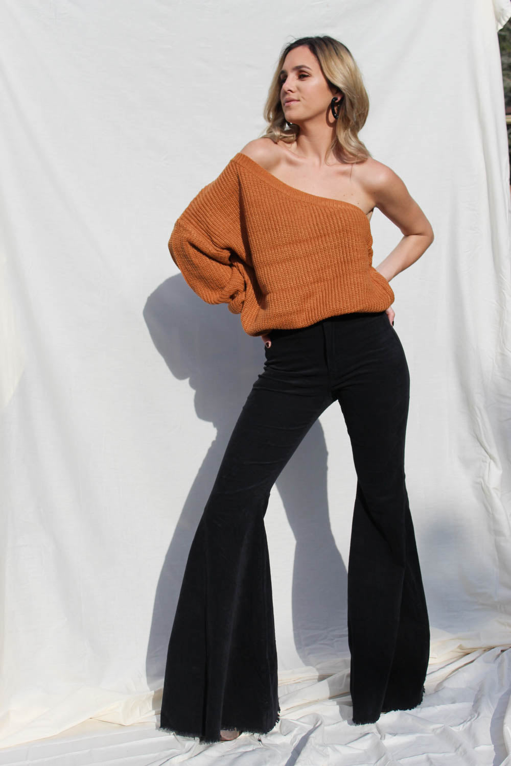 Willa Rust Sweater