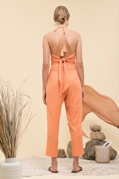 Eugenie Paper Bag Trousers