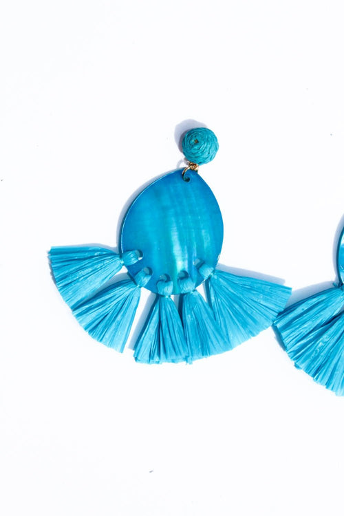 Adesina Blue Earrings