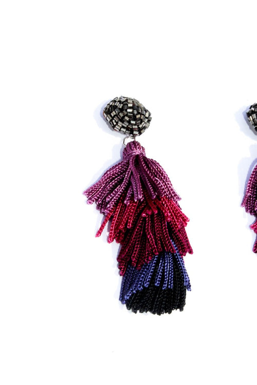 Afi Tassel Earrings