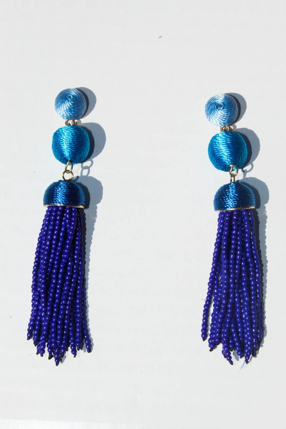 Agurne Tassel Earrings