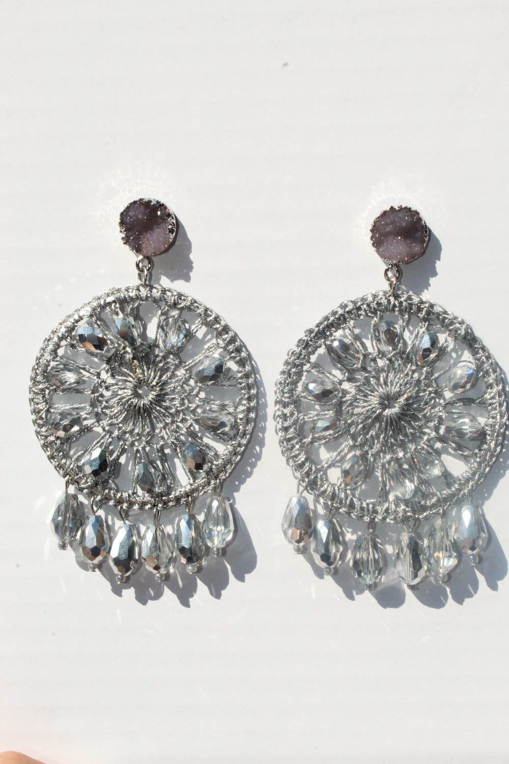 Austen Silver Earrings