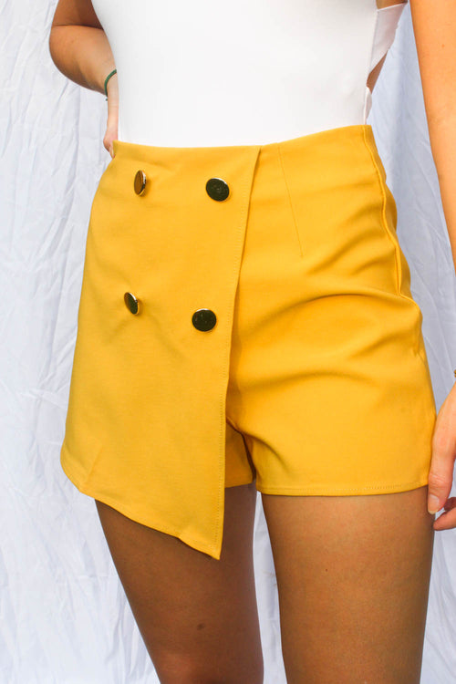 Cici Yellow Set Skort