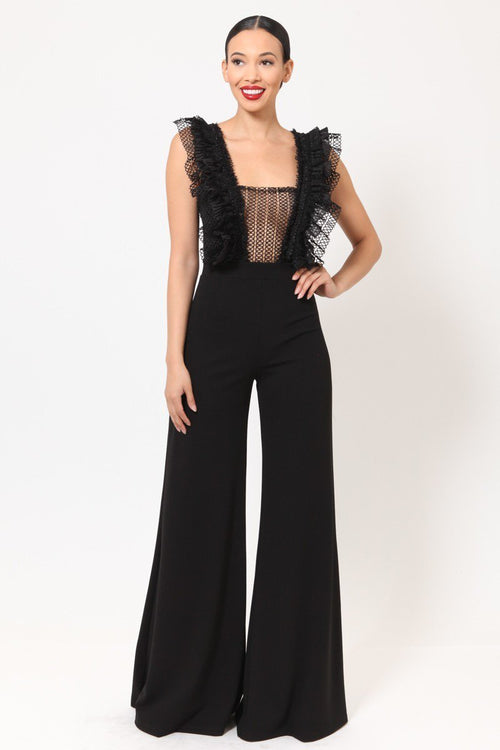 Zimmi Black Jumpsuit