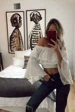 TAYLOR OFF SHOULDER TOP