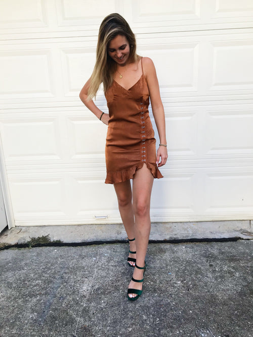 Spiced Manhattan Dress