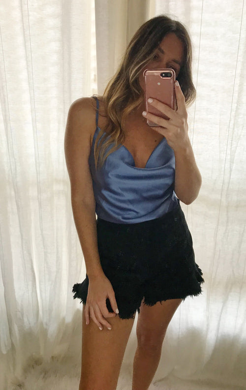 Lottie Midnight Blue Top