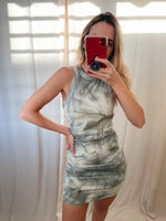 MORGAN TIE DYE DRESS