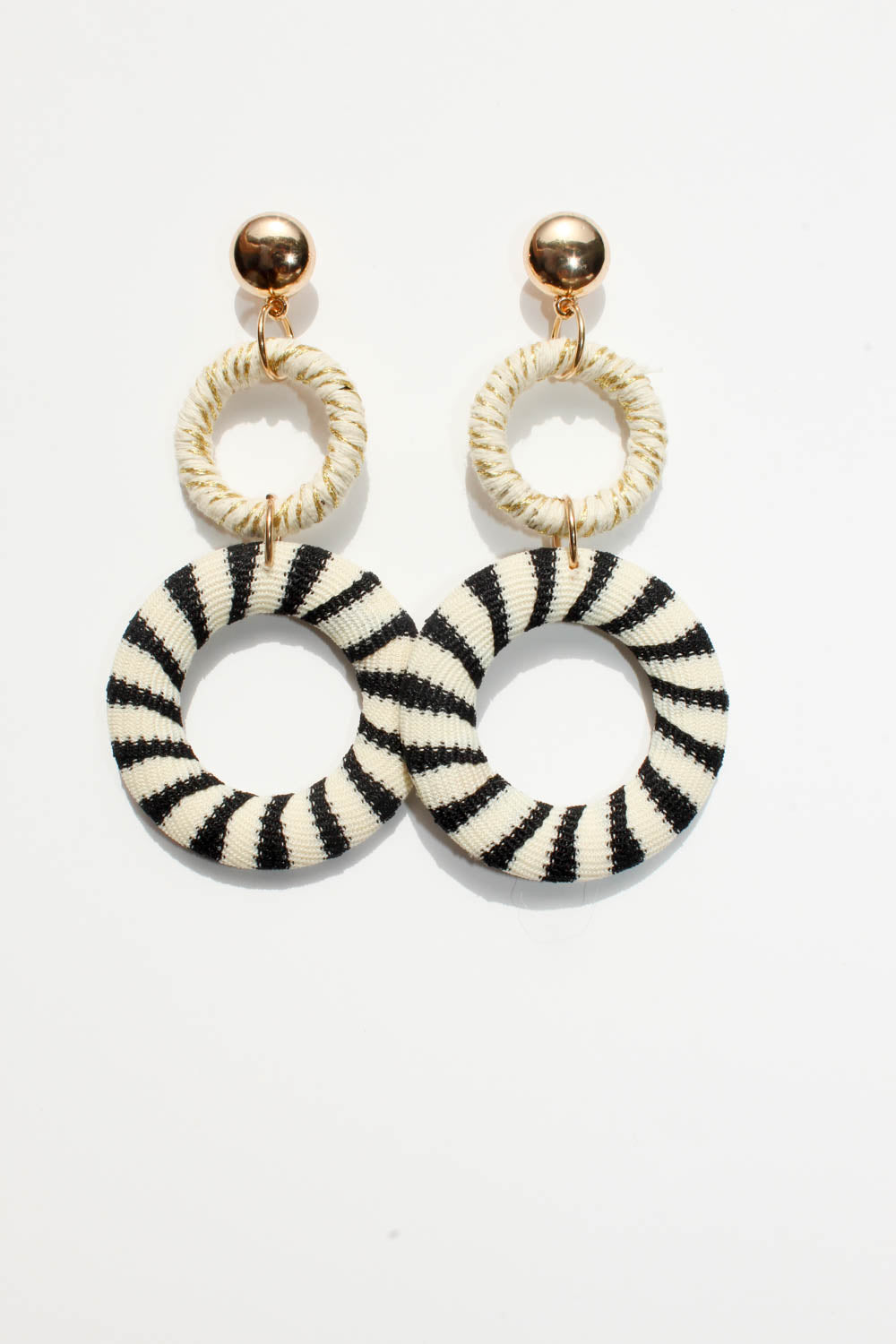Reese Round Earrings