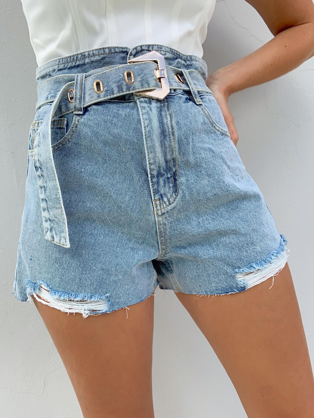 HENDRIX DENIM SHORTS
