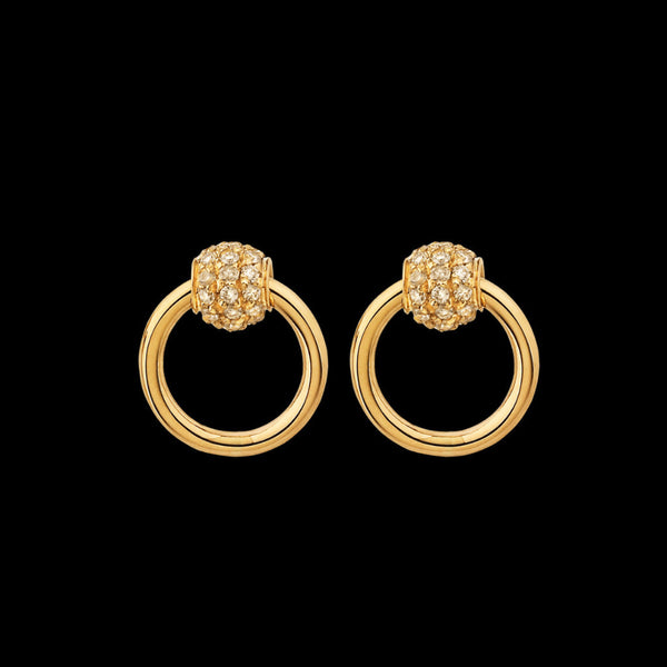 Sado-Chic Diamond Earrings - Mini
