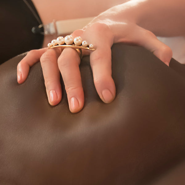 String of Pearls Massage Ring