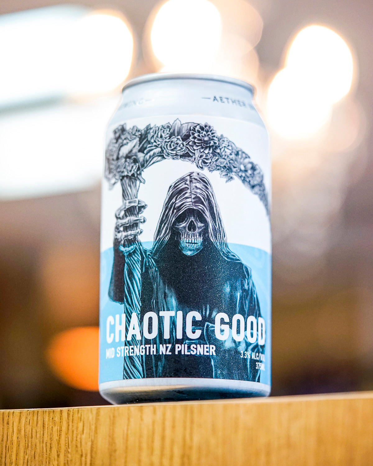 Aether 'Chaotic Good' Mid Strength NZ Pilsner 375mL