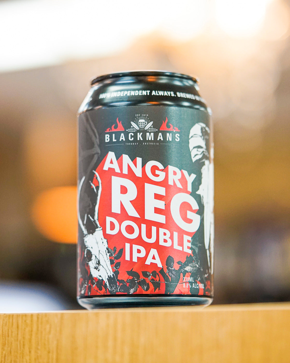 Blackmans Brewery 'Angry Reg' Double IPA 330mL