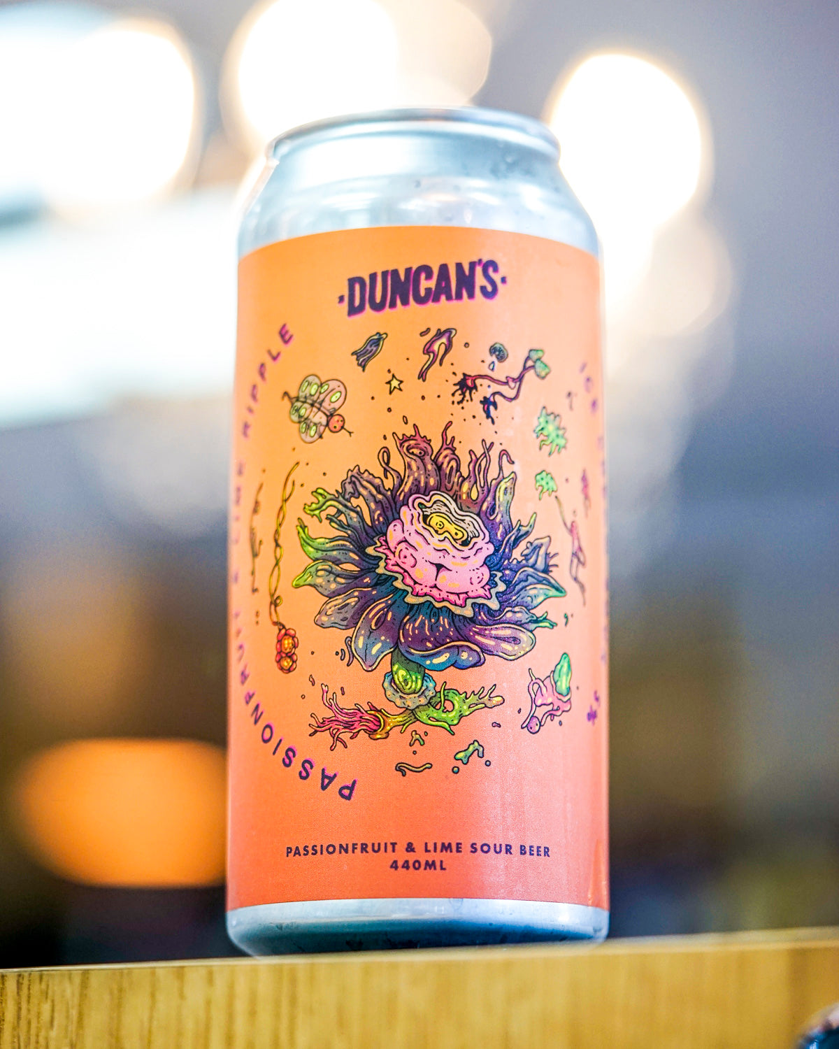 Duncan's Passionfruit & Lime Sour 440mL