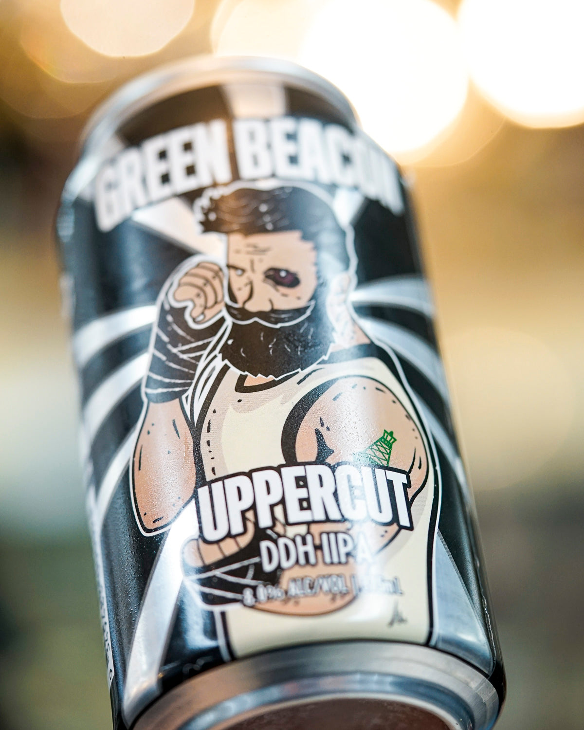Green Beacon 'Uppercut' DDH IIPA 375mL