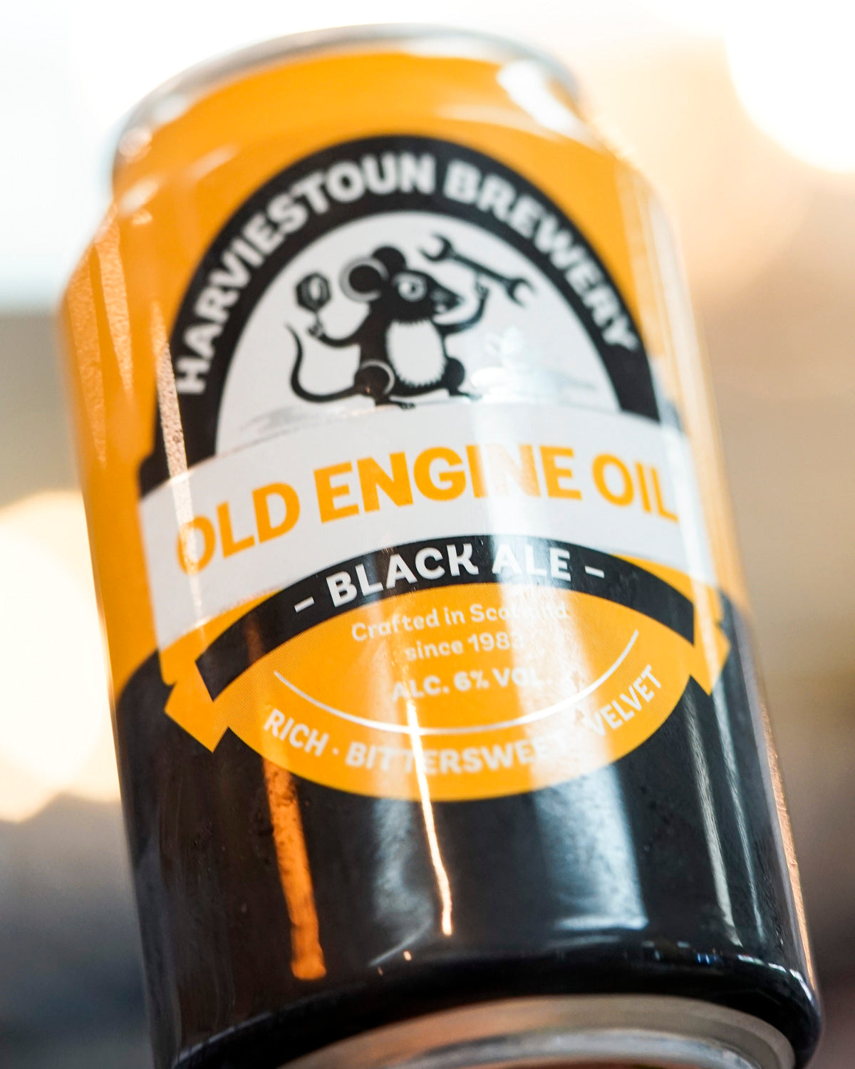 Harviestoun Brewery 'Old Engine Oil' Black Ale 330mL