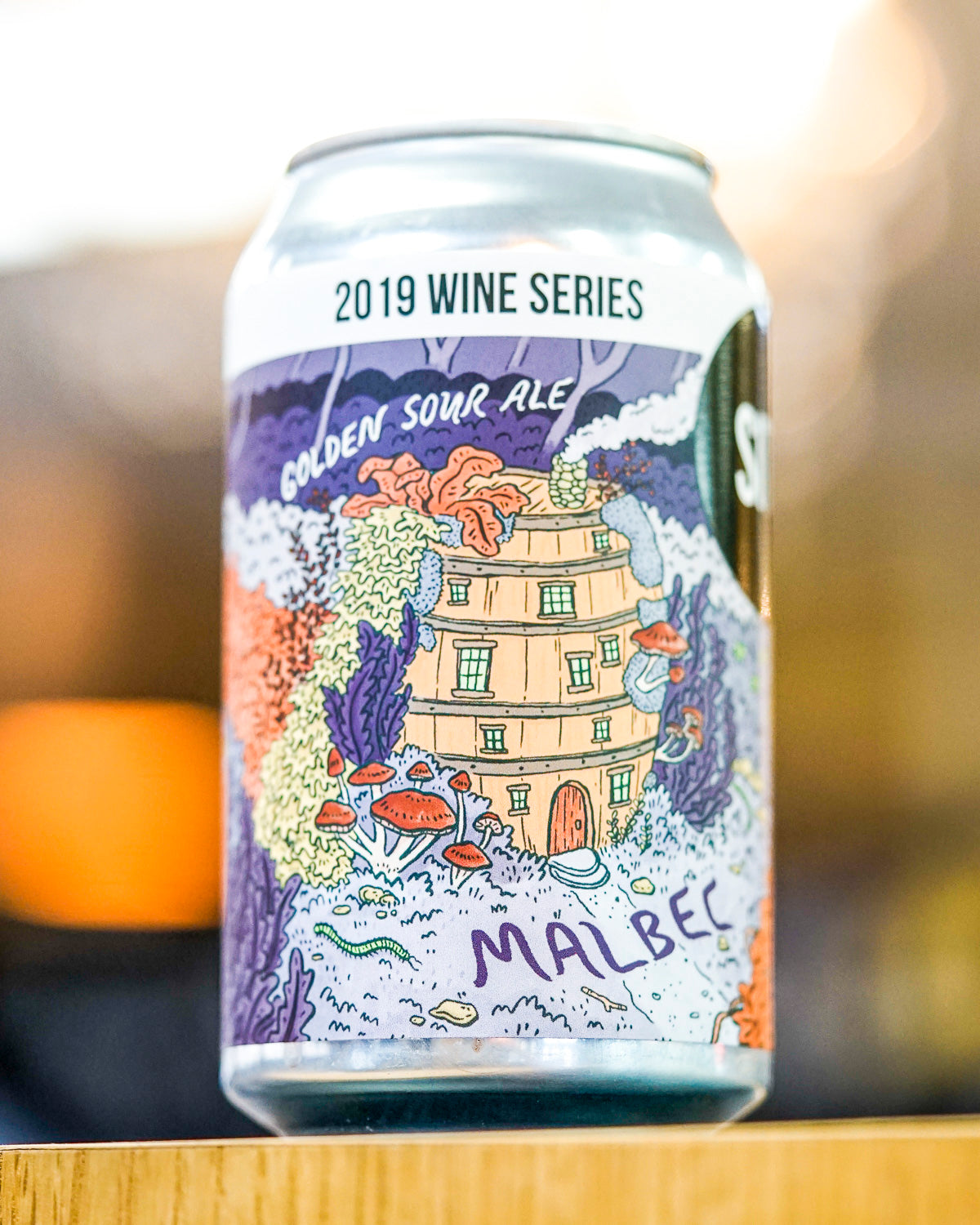 Hop Nation Site Fermentation Project Wine Series Malbec 2019 330mL
