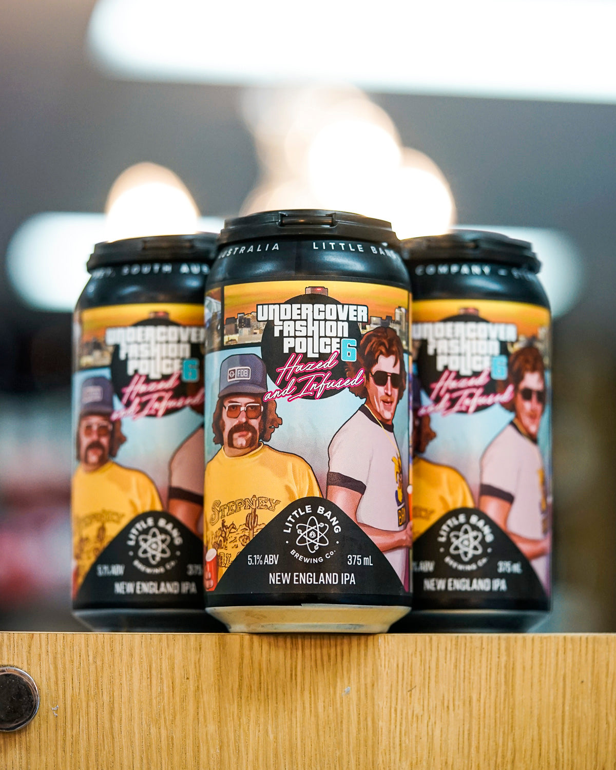 Little Bang Brewing 'Undercover Fashion Police 6' New England IPA 375mL