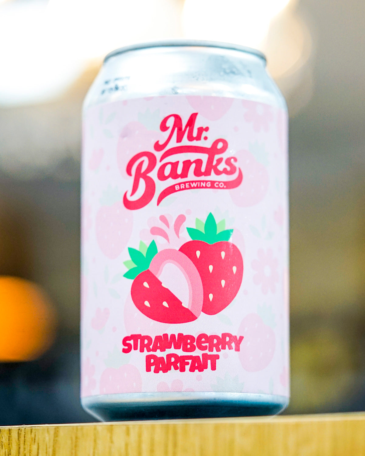 Mr Banks Strawberry Parfait 375mL