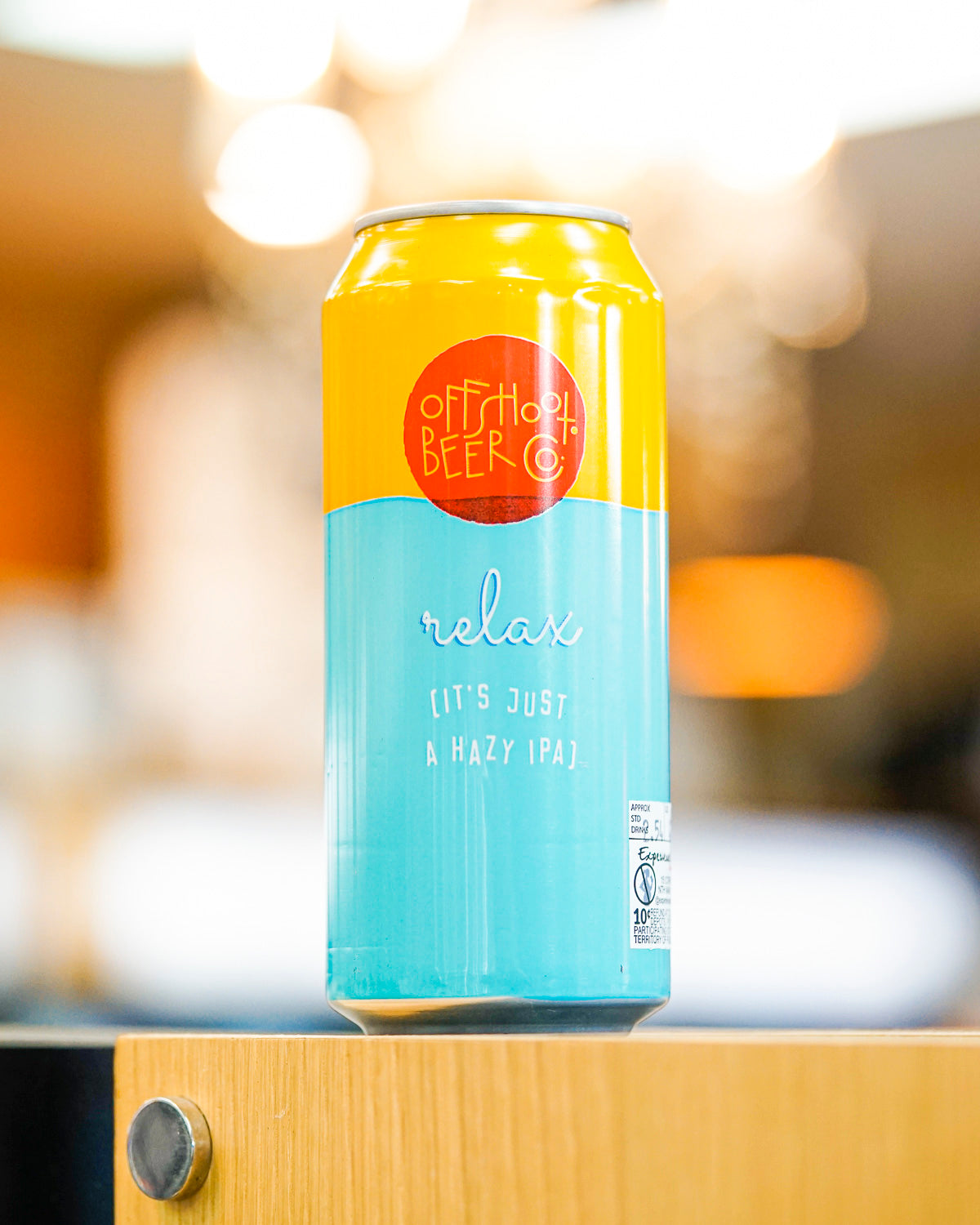 Offshoot Beer Co. 'Relax' Hazy IPA 473mL