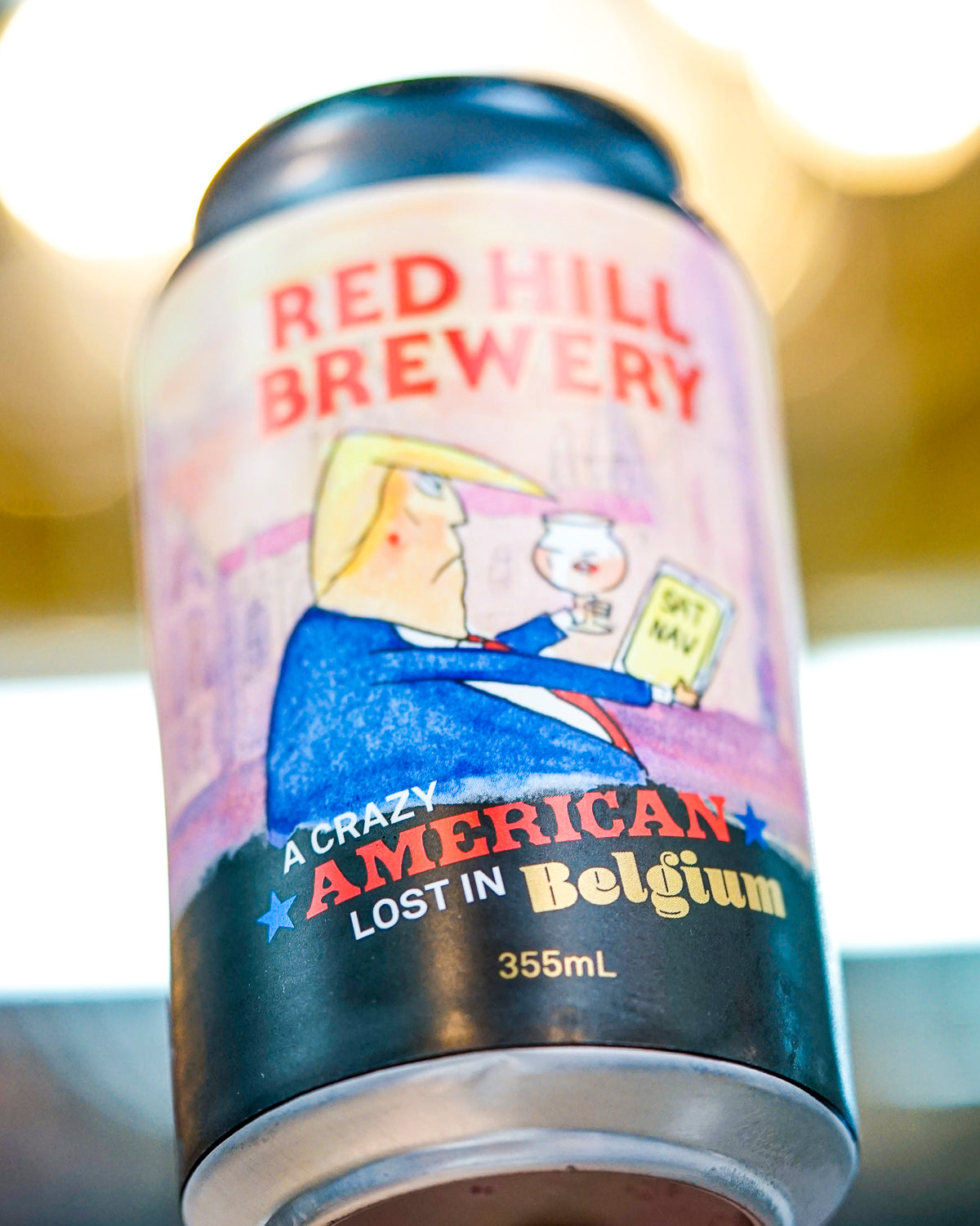 Red Hill Brewery 'A Crazy American Lost In Belgium' Strong Belgian Ale 355mL