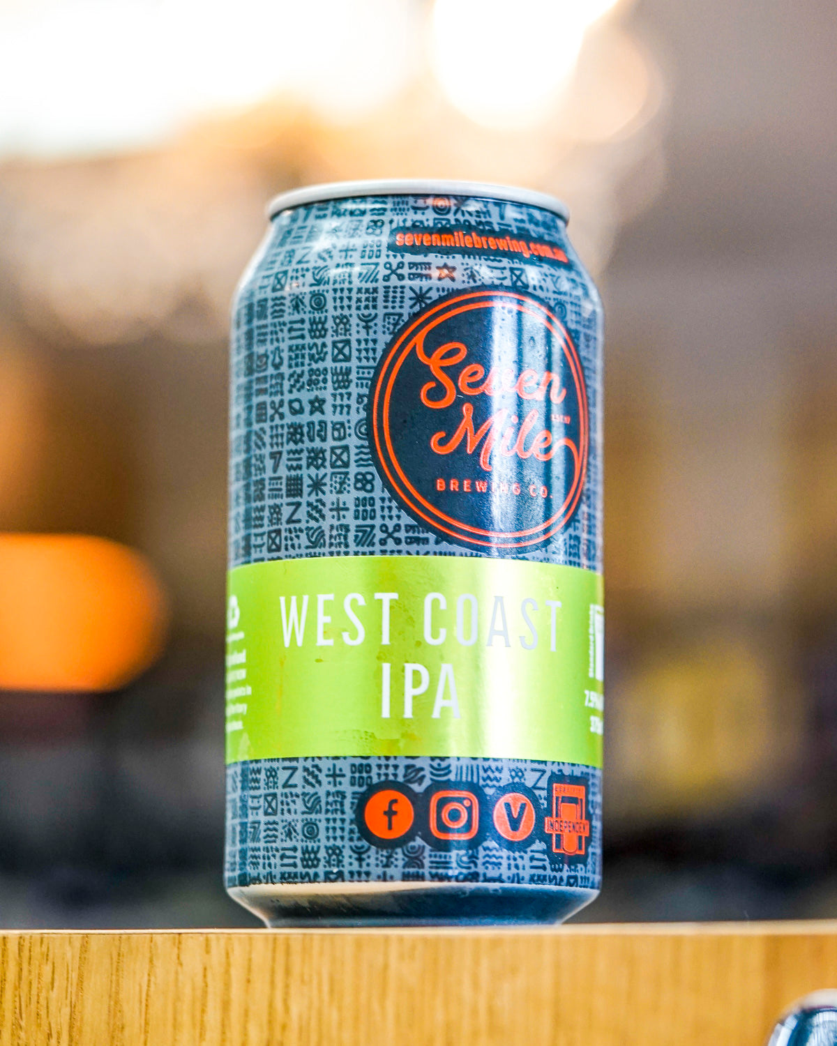 Seven Mile Brewing Co. West Coast IPA 375mL