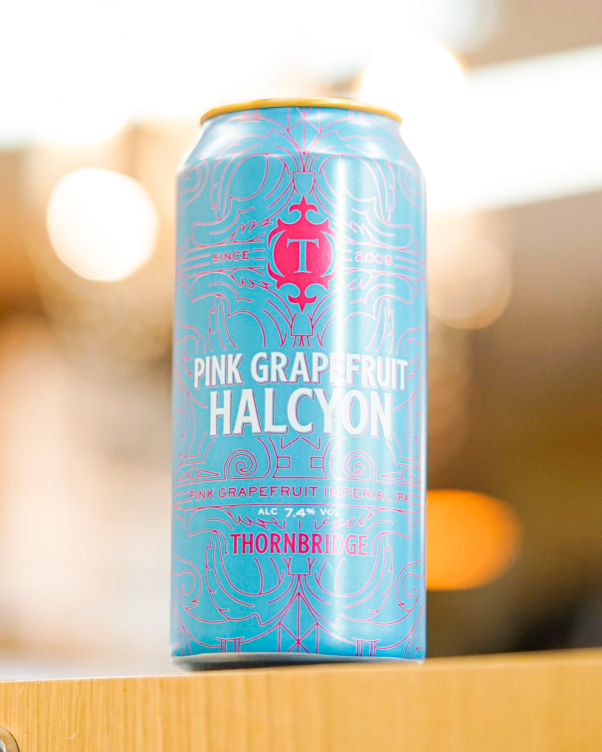 Thornbridge 'Halcyon' Pink Grapefruit Imperial IPA 440mL