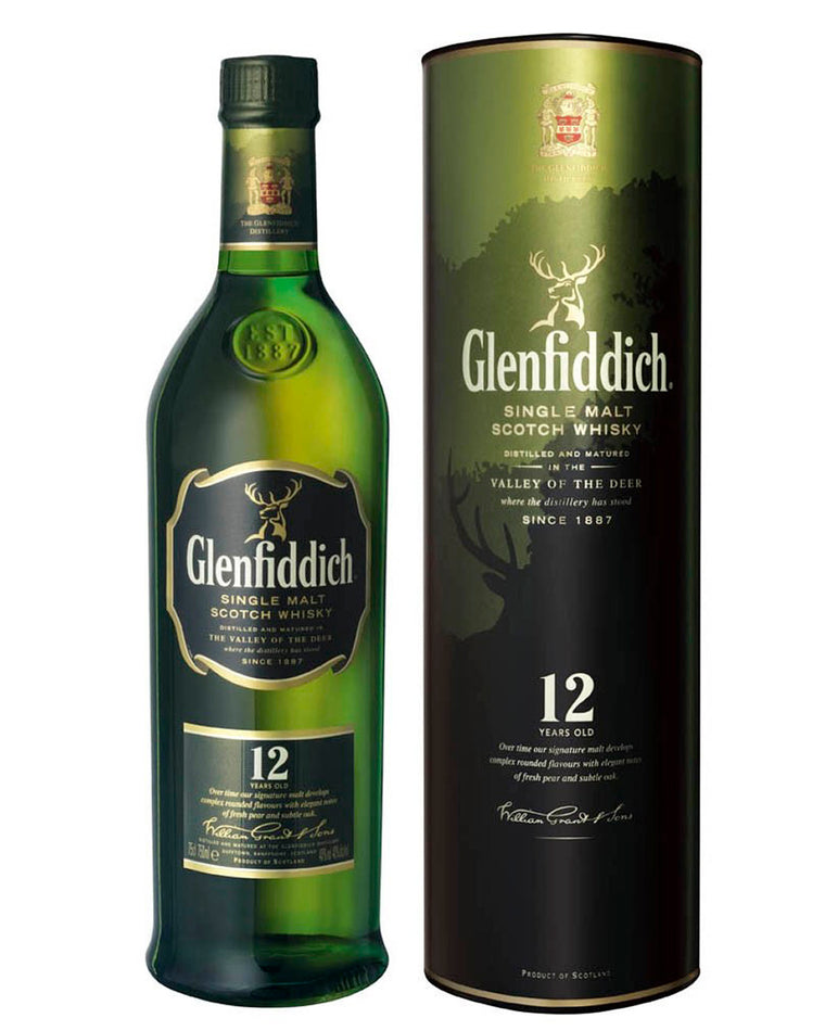 Glenfiddich Aged 12 Years Whisky 700mL