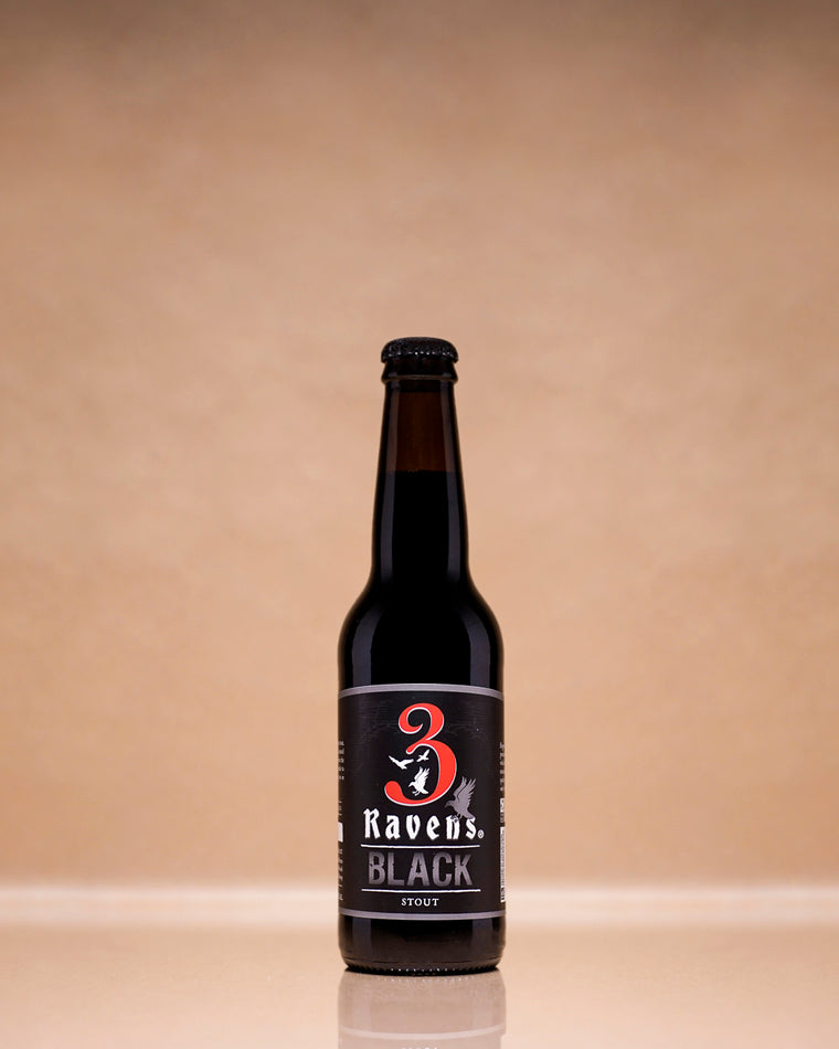 3 Ravens 'Black' Stout 330mL