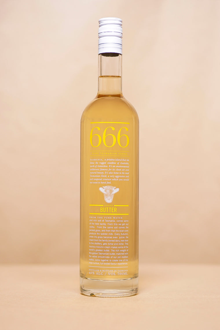 666 'Butter' Vodka 700mL