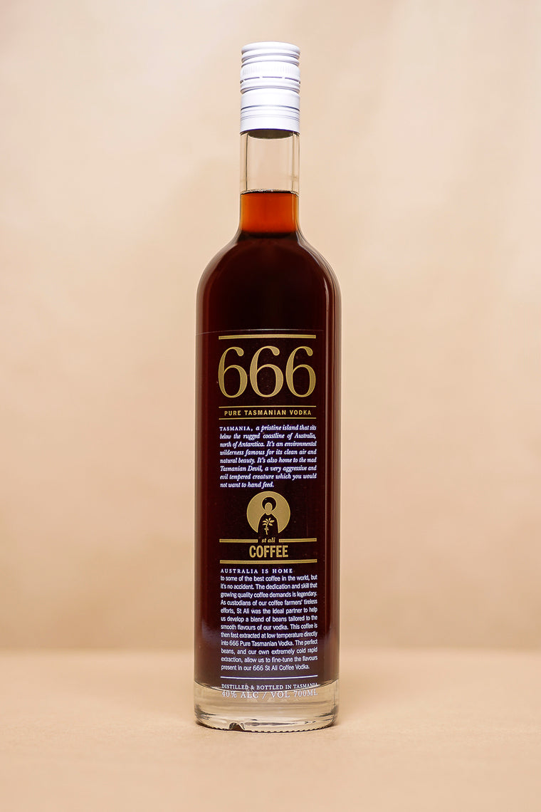 666 'Coffee' Vodka 700mL