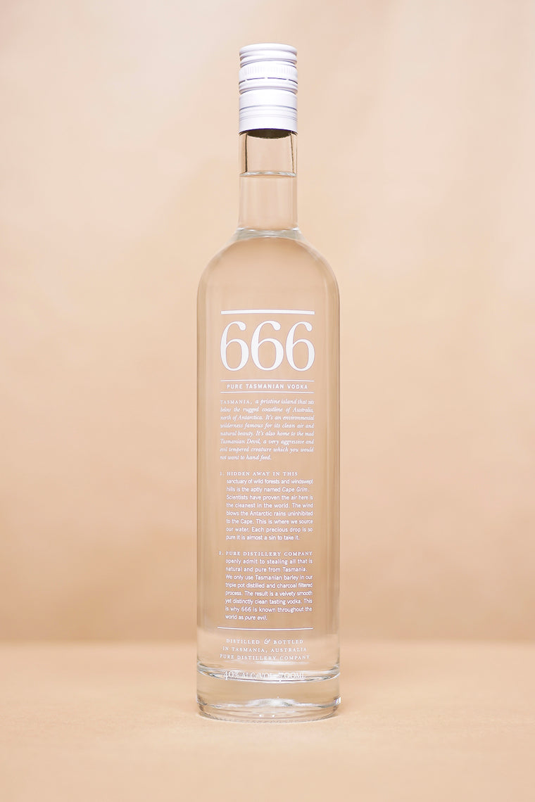 666 Vodka 700mL